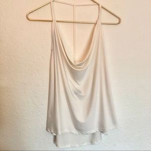 Nasty Gal cowl neck T strap tank top